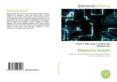 Bookcover of Regression analysis
