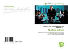 Portada del libro de Nuclear Debate