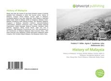 Bookcover of History of Malaysia