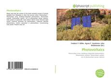 Bookcover of Photovoltaics