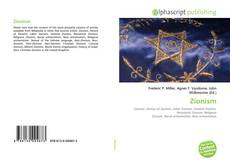 Bookcover of Zionism