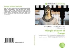 Bookcover of Mongol invasion of Europe