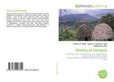 Bookcover of History of Ethiopia