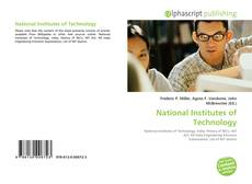 Bookcover of National Institutes of Technology