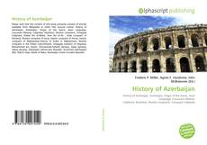 Bookcover of History of Azerbaijan