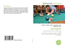 Bookcover of Cue Sports