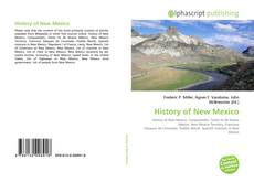 History of New Mexico kitap kapağı