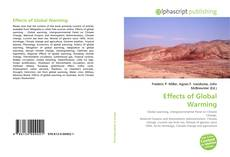 Bookcover of Effects of Global Warming