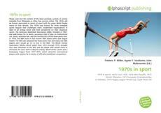 Capa do livro de 1970s in sport