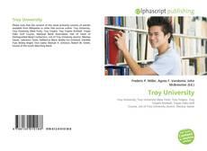 Обложка Troy University