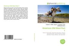 Couverture de American Old West Part 1