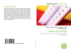 Bookcover of Indoor air quality