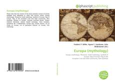 Bookcover of Europa (mythology)