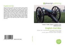 Bookcover of English Civil War