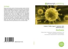 Bookcover of Archaea
