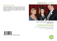 Couverture de Carleton University
