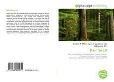 Bookcover of Rainforest
