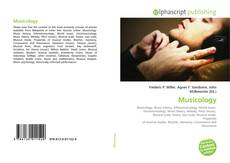 Bookcover of Musicology