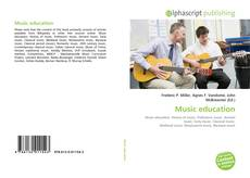 Bookcover of Music education