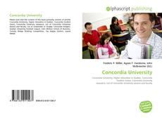 Bookcover of Concordia University