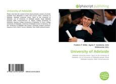 Обложка University of Adelaide