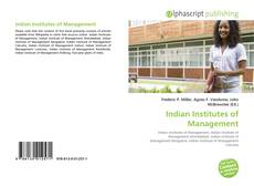 Bookcover of Indian Institutes of Management