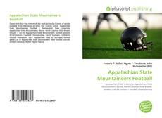 Appalachian State Mountaineers Football kitap kapağı