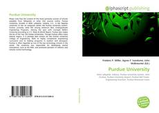 Bookcover of Purdue University