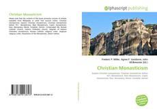 Bookcover of Christian Monasticism