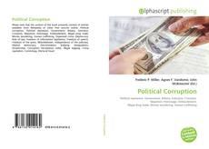 Buchcover von Political Corruption