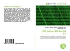 Portada del libro de IBM System/360 Model 67