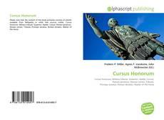 Copertina di Cursus Honorum
