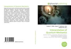 Bookcover of Interpretation of Quantum Mechanics