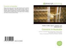 Bookcover of Convicts in Australia
