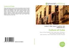 Bookcover of Culture of Cuba