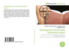 Copertina di Development of the New Testament Canon
