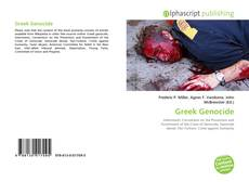 Bookcover of Greek Genocide