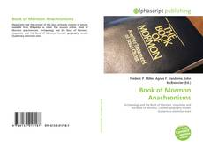 Bookcover of Book of Mormon Anachronisms