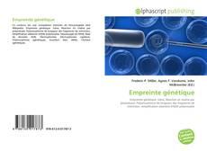 Empreinte génétique kitap kapağı