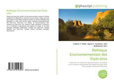 Couverture de Politique Environnementale des États-Unis