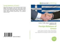 Bookcover of Foreign Relations of Greece