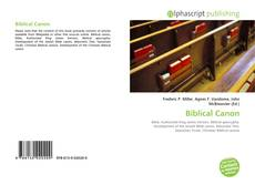 Bookcover of Biblical Canon