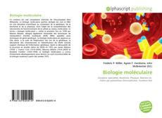 Buchcover von Biologie moléculaire