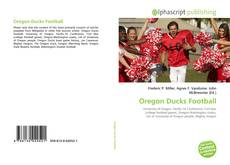 Capa do livro de Oregon Ducks Football