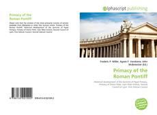Обложка Primacy of the Roman Pontiff