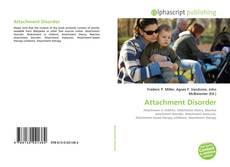 Bookcover of Attachment Disorder