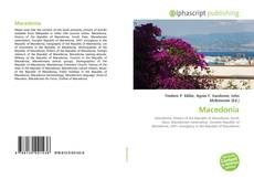 Bookcover of Macedonia
