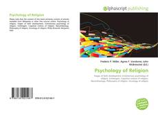 Psychology of Religion的封面
