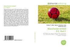 Bookcover of Manchester United F.C. Part 1