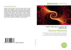 Bookcover of General Relativity